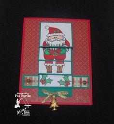 Christmas Waterfall card