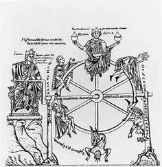 Wheel of Fortuna in Hortus Deliciarum Slide Wheel of Fortuna in Hortus Deliciarum, Kitzinger, Ernst. The Art of Byzantium and the Medieval West. Bloomington: Indiana, p. Tarot, Medieval Drawings, Old Man Fashion, Geometric Drawing, Web Themes, Wheel Of Fortune, Art Reproductions, Art And Architecture, Line Drawing