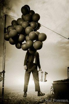 Le voyageur au ballon
