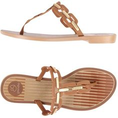 aea1d05b54 Grendha Toe Post Sandal ( 27) ❤ liked on Polyvore featuring shoes