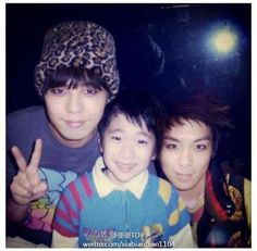 GD & TOP with a kid