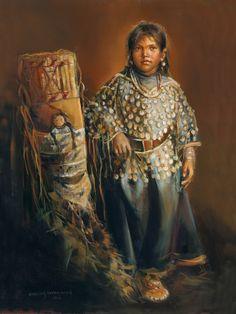 Crow Indian Girl « Mason Maloof Designs