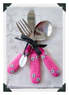 Personalized gifts baby colorful spoon confirmation gift unique gift custom order kids cutlery set 35 nz negle Images