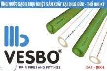 Ống nhựa VESBO,Đại lý cấp 1 phân phối ống nhựa VESBO toàn quốc