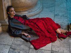 Phantom of the Opera by Marina Danilova for Faces Magazine Russia - ego-alterego.com