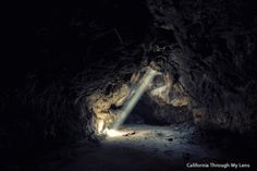 Lava Tube in Mojave National Preserve