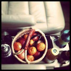 Sara always has the best food! roadtrip food