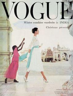 Vogue UK cover, November 1956