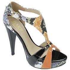 Sandália Feminina Belmon - 564 laranja - 33 ao 43 - Sapatos Femininos, Sandálias, Peep Toes, Calçados em Numeração Especial - Sapato Show
