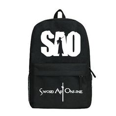 This compact Sword Art Online Backpack works great for schooling kids, teenagers, and even adults! With a high capacity of 20-35L, the backpack can support books, laptops etc. no problem. Stylish and