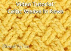 Crochet Tutorial: Diagonal Celtic Weave in Rows ✿⊱╮Teresa Restegui http://www.pinterest.com/teretegui/✿⊱╮