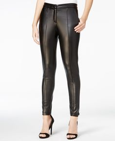 Fair Child Faux-Leather Leggings