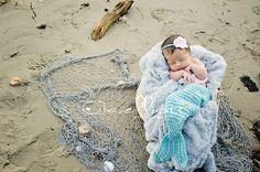 beach newborn