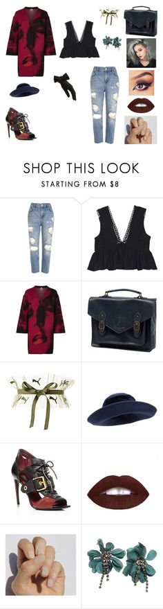 """&"" by ohbabyimrachel ❤ liked on Polyvore featuring River Island, M Missoni, John Lewis, Burberry, L.A. Girl, SoGloss, Lanvin and Black"