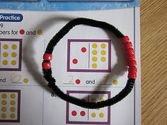 love this idea to incorporate fine motor skills and math