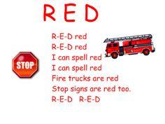 Red Color Song by Frog Street Press Color Red Activities, Preschool Colors, Preschool Music, Preschool Classroom, Preschool Activities, Kindergarten, Frog Street Press, Red Song, Shape Songs