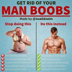 Yes, sensitive issue.Yet one that needs to be addressed because many men are suffering from this in silence! The good news is, you CAN get rid of your moobs. And to do so, you first need to stop doing what all other guys with moobs in the gym are doi Weight Training Workouts, Gym Workout Tips, At Home Workouts, Workouts For Men, Mens Fitness Workouts, Training Tips, Strength Training, Cycling Workout, Ectomorph Workout