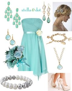 Are you a bridesmaid or bride-to-be?  Check out these wedding looks to LOVE! www.stelladot.com/csinclair