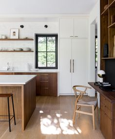 Home Interior Modern Photo 6 of 16 in A New Jersey Neighborhood Gets a Gorgeous Passive House - Dwell.Home Interior Modern Photo 6 of 16 in A New Jersey Neighborhood Gets a Gorgeous Passive House - Dwell The Design Files, Küchen Design, Layout Design, Interior Design, Design Ideas, Interior Photo, Tile Design, Interior Paint, Luxury Interior