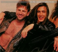 Paul Geary and Nuno Bettencourt Nuno Bettencourt, Happy Birthday Paul, Steve Perry, Happy Tears, Great Memories, Laughing So Hard, Music Is Life, I Laughed, Beautiful Men