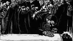Memorial for Karl Liebknecht - Kathe Kollwitz 1919 Cute Animal Drawings, Cute Drawings, Ap Art History 250, Karl Schmidt Rottluff, Kathe Kollwitz, George Grosz, Sharpie Drawings, Berlin, Printmaking
