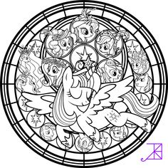 Twilicorn Coronation SG Coloring Page by Akili-Amethyst.deviantart.com on @DeviantArt