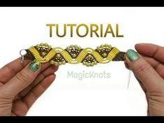 Mariposas / ♥︎ Pulseras de macramé - YouTube