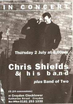 Chris Shields and His Band Chris Shields, Carole King, Croydon, Him Band, Nonfiction, Writer, Singer, Non Fiction, Writers