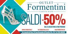 #Sandali, #decolleté, #ballerine, #zeppe e tanto altro a -50% da #FormentiniOutlet www.formentini.it