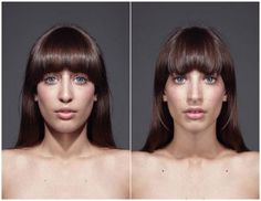 "Julain Wolkenstein's ""Echoism"" photo project makes subjects faces symmetrical"