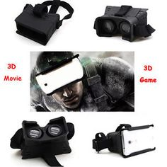 ff228c5b74c9f2 Cardboard Google Virtual Reality Headset VR headsets have welcomed the  future of viewing 3d Glasses