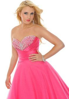 22b71250a9c Pincess Sweetheart Satin   Tulle Empire Floor Length Prom Dress Unique Prom  Dresses