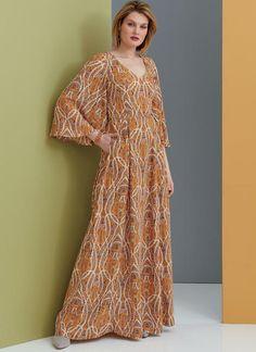 V9328 | Misses' Dress | Vogue Patterns Corsage, Patron Simplicity, Patron Butterick, Bra Pattern, Dress Making Patterns, Vogue Sewing Patterns, Miss Dress, Mi Long, Plus Size Fashion