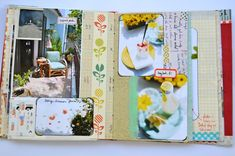 inspiration book process. Mary Ann Moss - The colors seem so peaceful to me.
