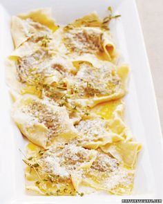 """See the """"Ravioli Stuffed with Kale, Prosciutto, and Marjoram"""" in our Healthy Kale Recipes gallery"""
