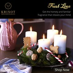 There is no place like home.  Get a homely #fragrance that lets you connect yourself.  http://ow.ly/SrHX307sTgB #Krixot #Freshlinen #Candle