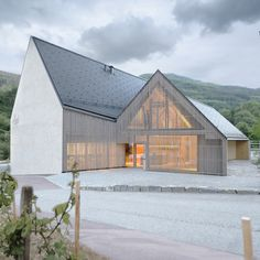 Ludescher and Lutz add a tasting hall to a winery in Austria's Wachau region