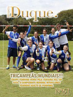 Revista Duque edição 61, 2013; 48 páginas, acabamento lombada quadrada (veículo de comunicação do Clube Duque de Caxias, Curitiba-PR)