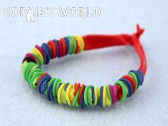 Balloon Bracelet DIY on sophie-world.com #craft #bracelet #ballon #DIY