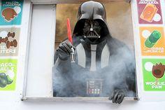 Star Wars Lightsaber Popsicles