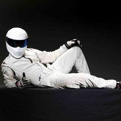 The Stig: Probably not much of a conversationalist, but if he really is Michael Schumacher then I'd love to hear some stories!