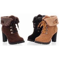 2013 Fashion Women Ankle BootsPlatform High Wedges Heels Lace up Snow Boots Pumps Black Brown Yellow Plus Big Size $12.70