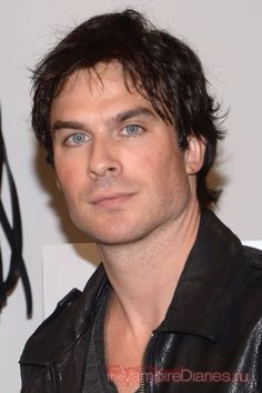 Actor Ian Somerhalder attends the Nikki Reed Freedom Of Animals Capsule Collection Trunk Show at Bloomingdale's Soho on October 2015 in New York City. Ian Somerholder, Tom Selleck, Nikki Reed, Vampire Dairies, Damon Salvatore, Most Beautiful Man, Cute Guys, How To Look Better, Tv Shows