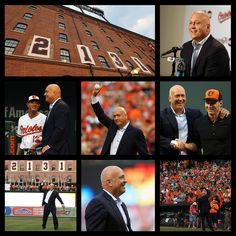 The 20th anniversary of Cal Ripken, Jr.'s record-breaking 2,131st consecutive game and welcomed The Iron Man to throw the ceremonial first pitch. 9/1/15