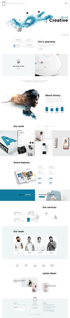 """CHI – Multipurpose PSD Template"" is modern, clean, multiple functions and professionally. It has 29 homepage layouts and 13 Online store layout Options! This template suits for any type of portfol..."