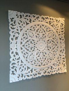 Ornament-Bild aus Holz. Zu finden bei richhome.