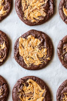 These vegan brookies with a peanut butter swirl are to die for! Soft and gooey in the middle like a brownie. They are gluten-free but don't have to be!
