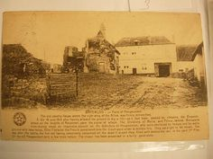 Vintage military postcard of Waterloo Belgium by NeatstuffAntiques, $25.00