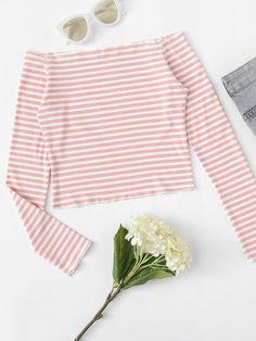 Soft, comfortable tees are an essential for every stylish closet! Find quality basic tees, graphics, crop tees, and more at ROMWE. Basic Tees, Crop Tee, Winter Wardrobe, Romwe, Amazing Women, Bell Sleeve Top, Tee Shirts, Style Inspiration, T Shirts For Women