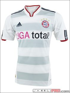 adidas Bayern Munich Away Jersey 2010-2012...$62.99